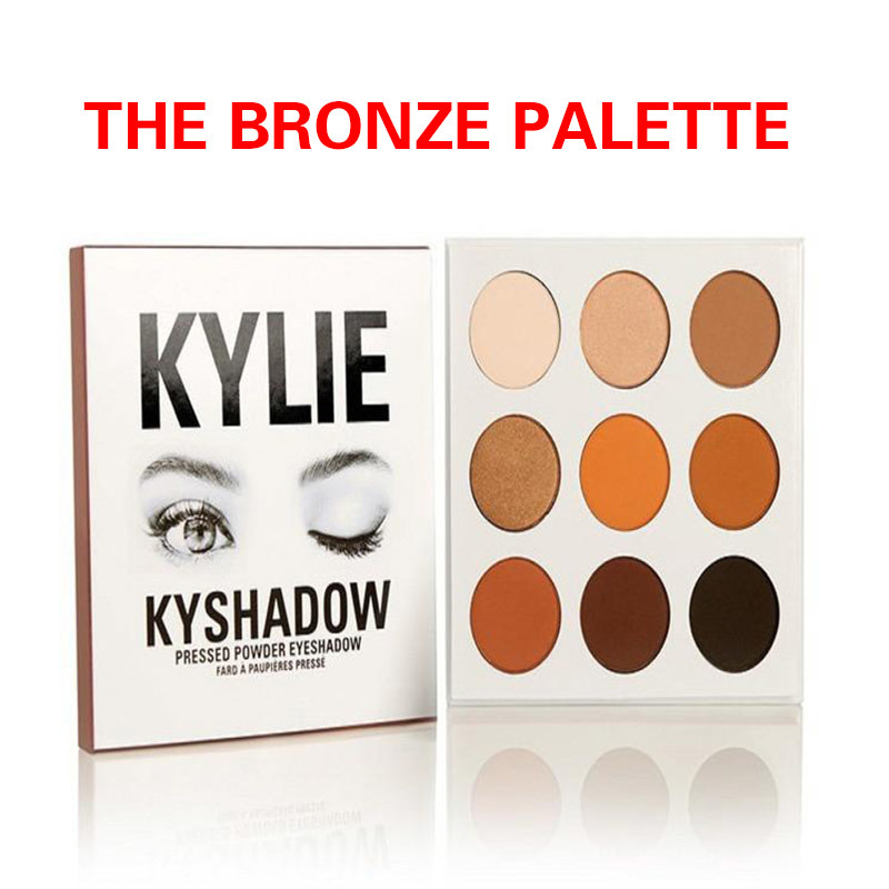 Kylie Cosmetics eyeshadow palette Holiday Edition Kyshadow THE BRONZE
