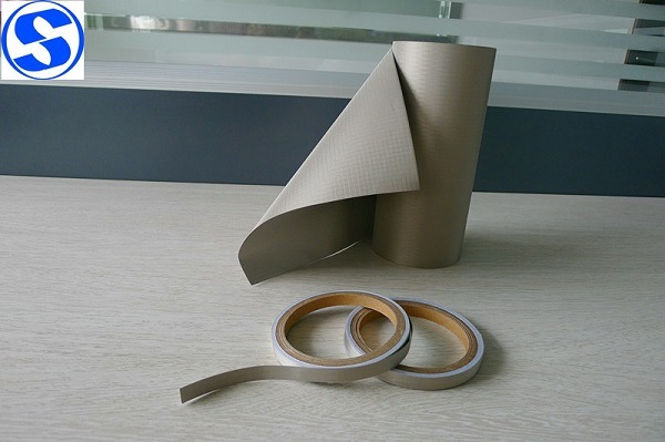 RFID Rip-Stop Copper Nickel Conductive Fabric for EMI Filter
