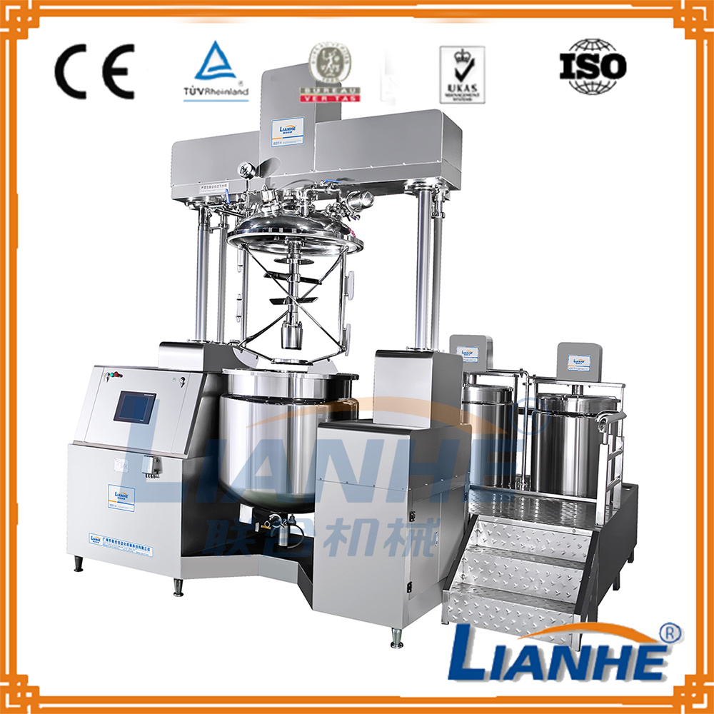 Guangzhou Lianhe Vacuum Mixer Emulsifying Mixing Machine for Cosmetic