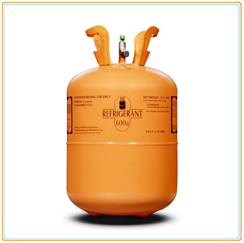 R600A Refrigerant Gas 5kg/11lb for Air Conditioning