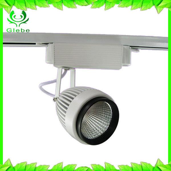 New design Lighting Track Energy Saving 80% 3-30W LED Track Spot Light