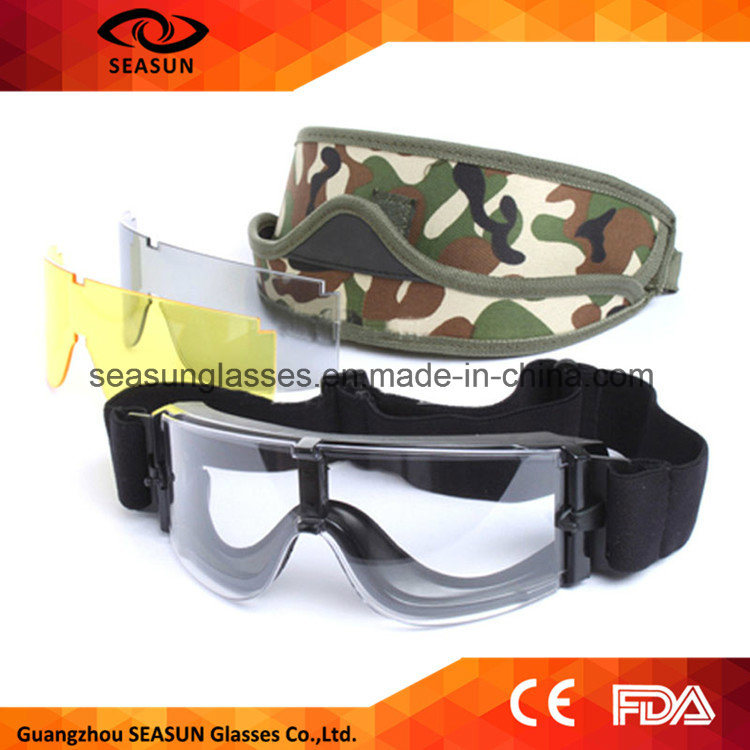 Tactical Military Eyewear Dustproof Army Safety Goggles Shotting Ballistic Goggles