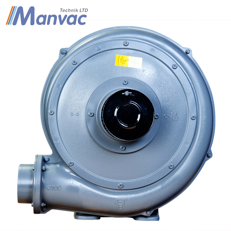 Large Air Flow Turbo Blower for Plastic Film Blowing System