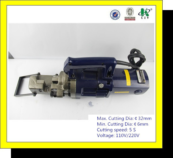 Portable Hydraulic Electric Rebar Cutting Machine RC-32