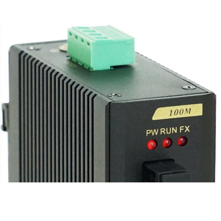 1 Megabit Tx & Fx Port Industrial Ethernet Network Switch