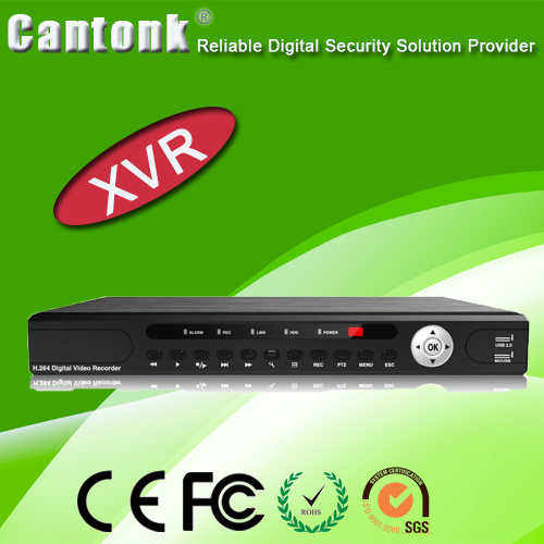 16CH with 2SATA HD H. 264 DVR (XVRT1621)