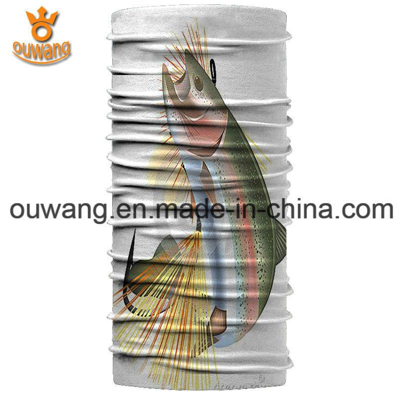 Wholesale Fishing Seamless Stretch Tube Neck Gaiter Bandana