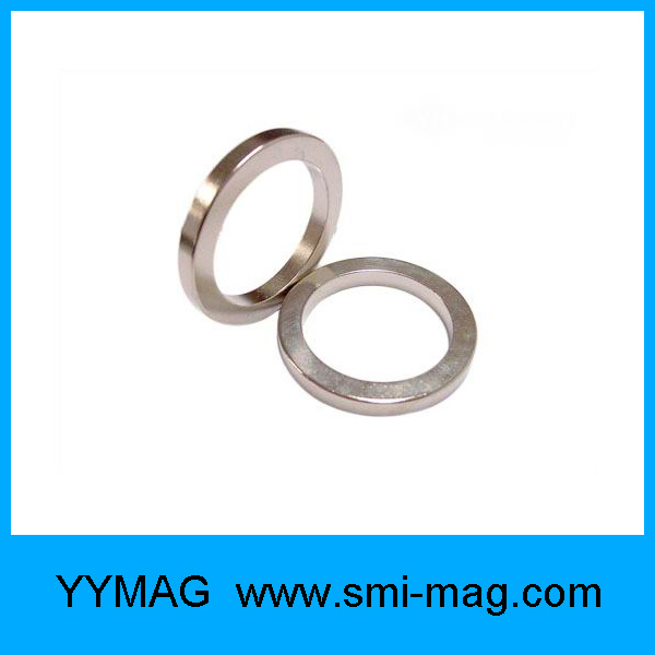 High Coercive Force NdFeB Permanent Neodymium Ring Magnet