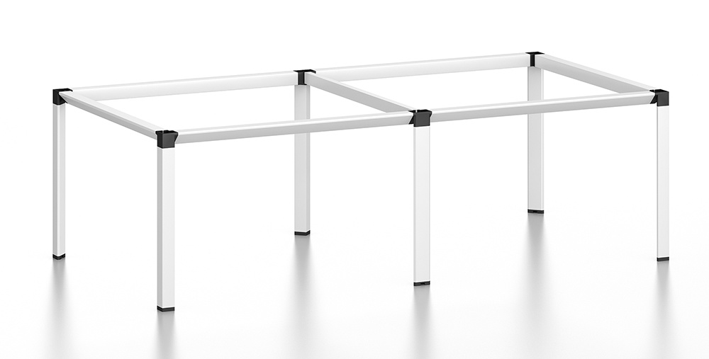 White Customized Metal Steel Office Conference Table Frame with Ht61-3