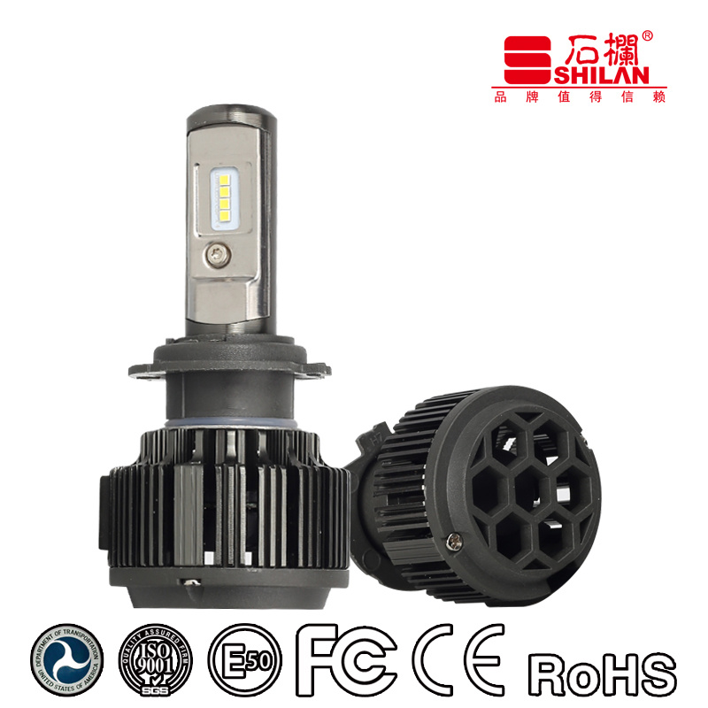 Pass Ce/Emark/DOT/RoHS Philips Csp 35W T6 H7 LED Auto Head Lamp