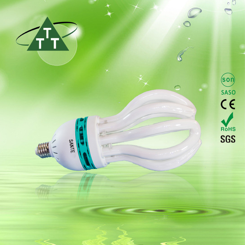 Energy Saving Lamp 250W Lotus 8u Halogen/Mixed/Tri-Color 2700k-7500k E27/B22 220-240V