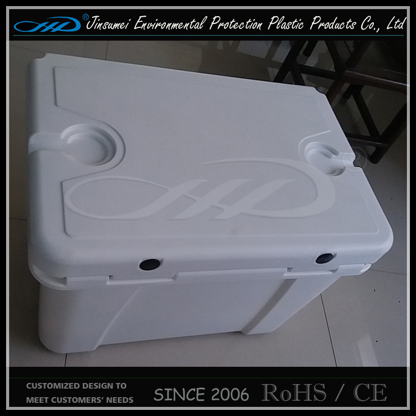 Rotomolding Plastic Insulated Food Plastic Cooler Box