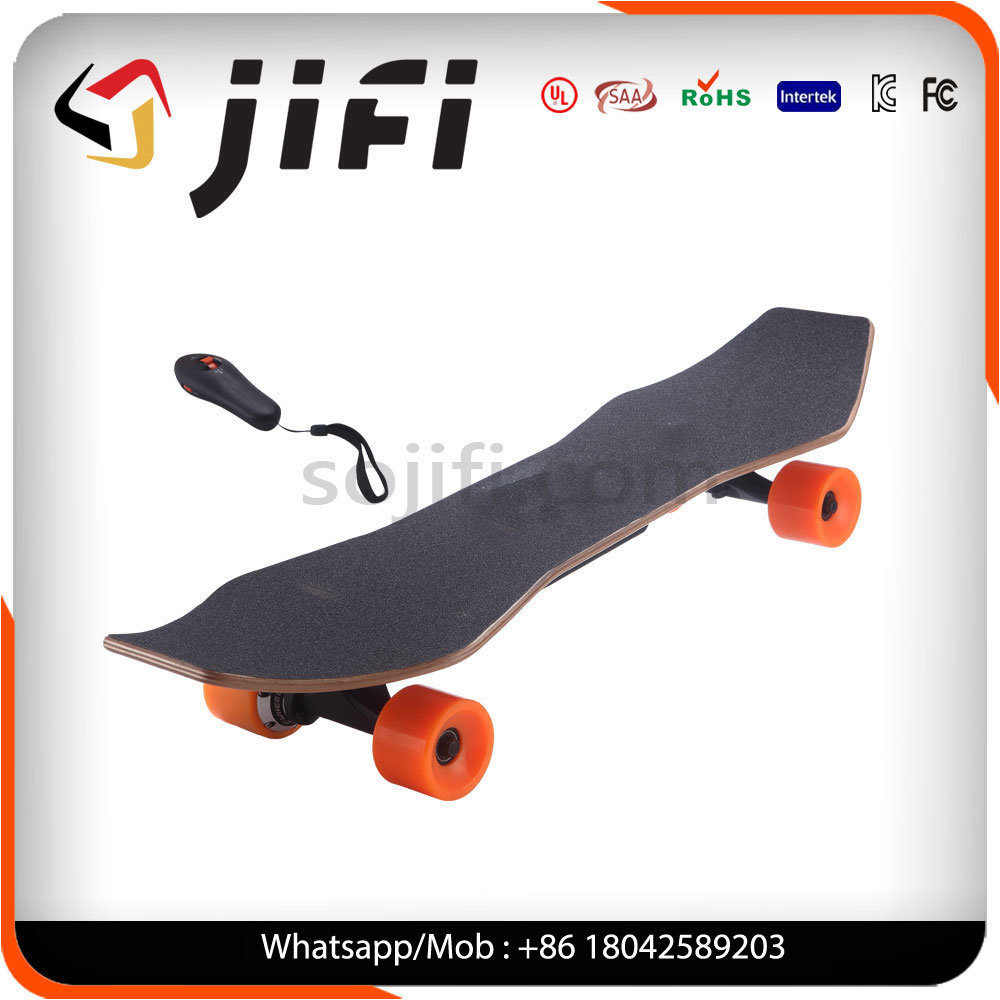 Cool 4 Wheels One Motor Electric Skateboard