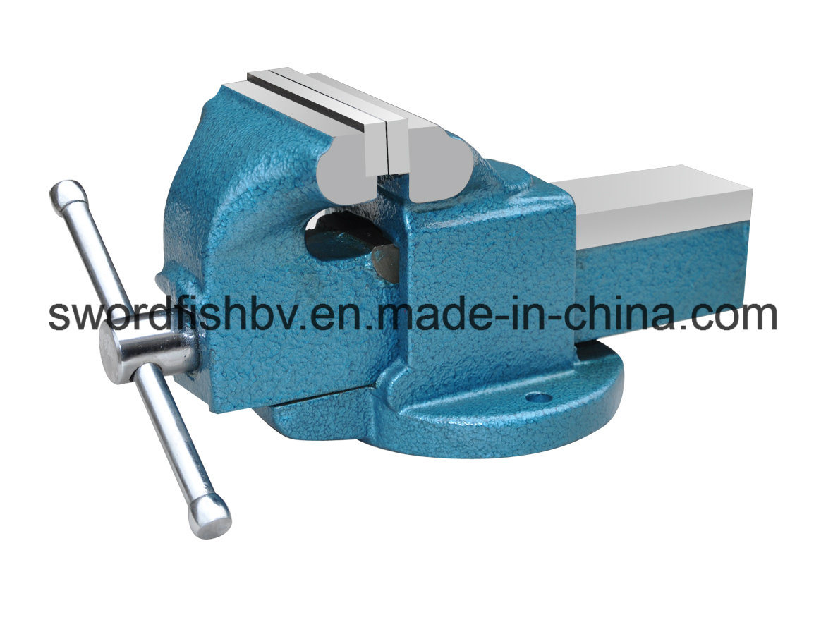 Swordfish Vice Light Duty Fixed Without Anvil Bench Vise
