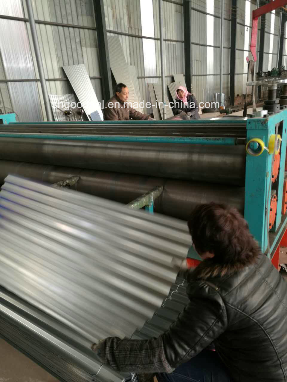 Corrugated Prepainted Galvanized PPGI Steel Roofing