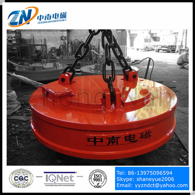 1200 mm Lifting Electromagnet for Steel Ball Lifting MW5-120L/1