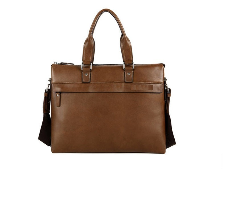 Luxurious Genuine Leather Laptop Messenger Bag