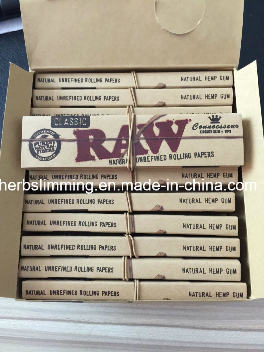 Raw+Tips Classic King Size Connoisseur Rolling Papers