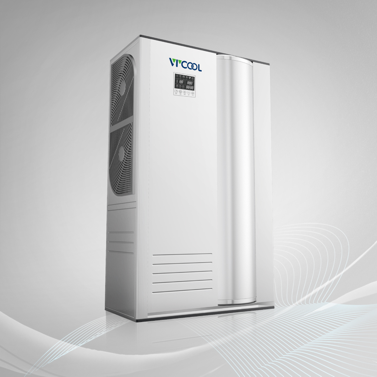 Air Source Heat Pump Water Heater All in One Model