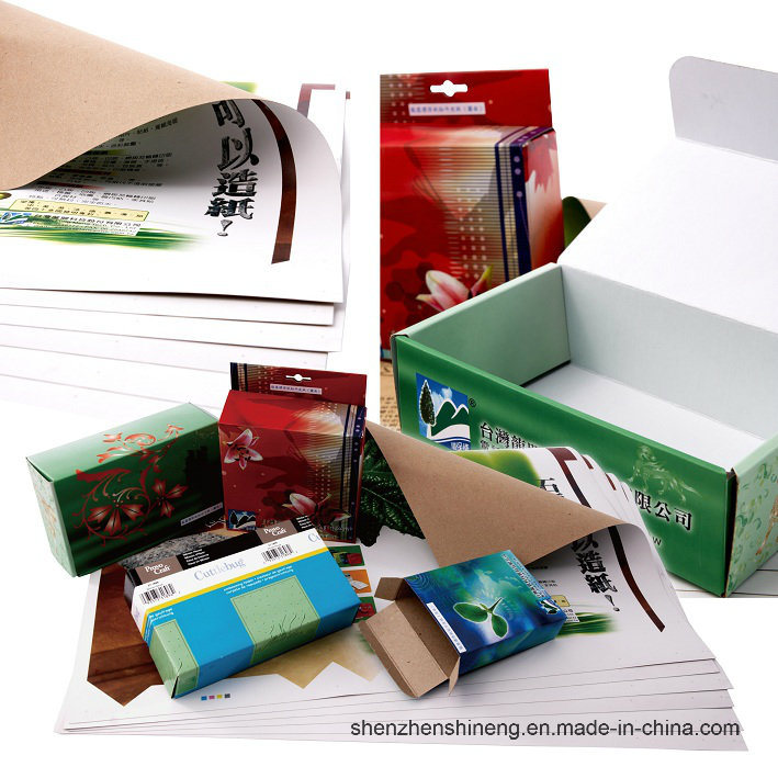 Environmental Friendly Stone Paper (RBD-250um) Rich Mineral Board Double Coated
