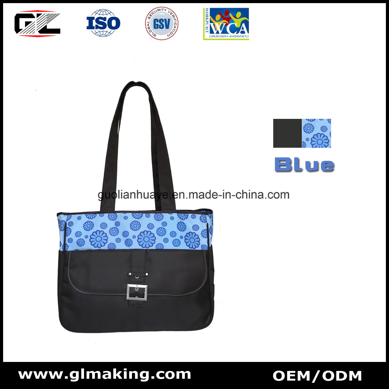 Gl023 Diaper Bag From OEM Manufacturer