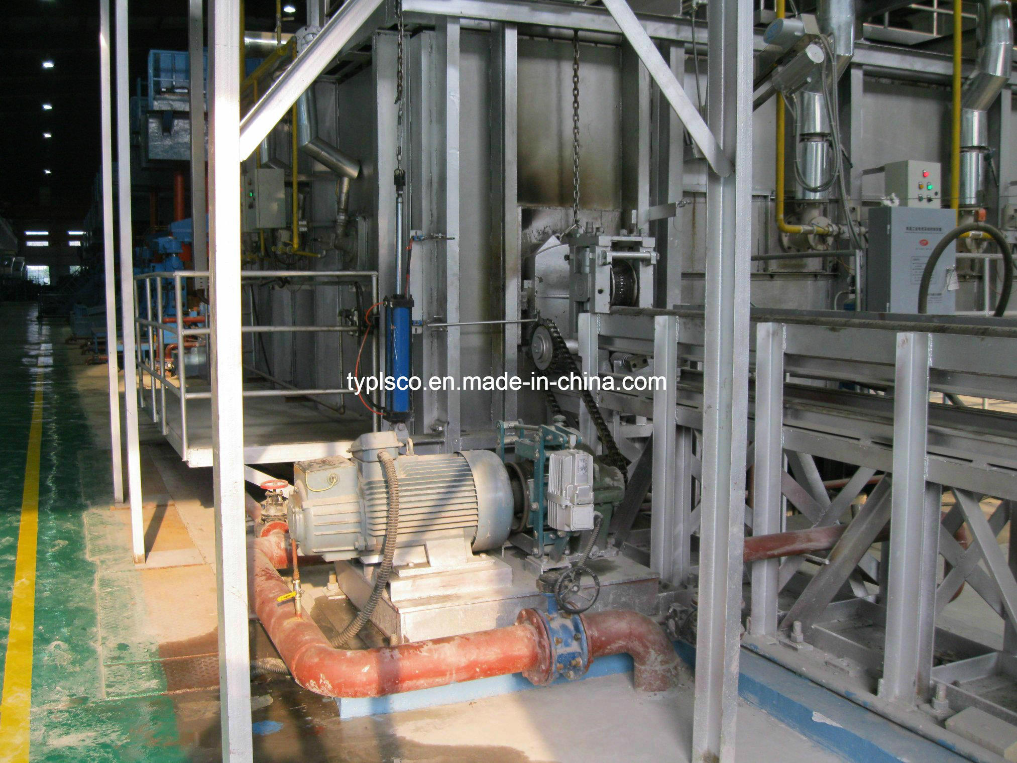 Heating Furnace of Rolling Mill