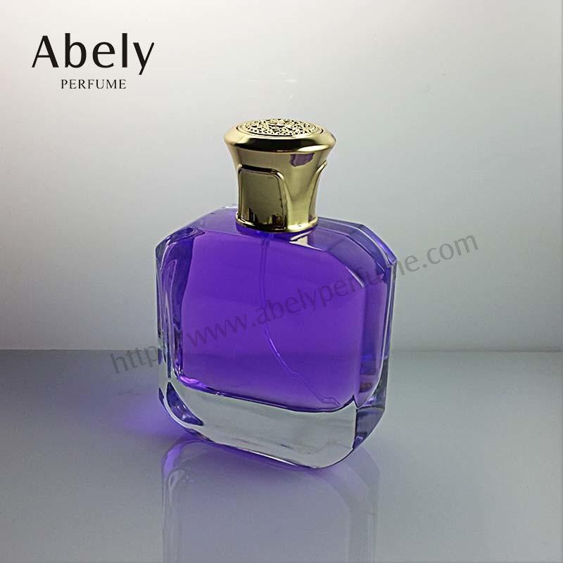 China Manufacturer 100ml Luxury Hot Selling Glass Perfume Bottle