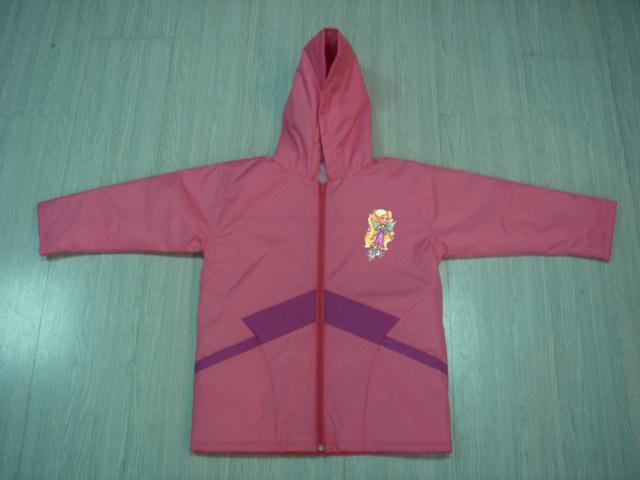 Children′s Pink Cute Waterproof Jacket Rainwear Raincoat Online Shopping