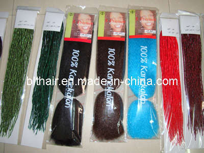 Synthetic Hair Weft Bulk 75