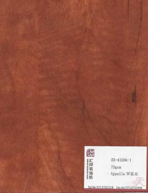 Apple Impregnated Paper (HB-41206-1)