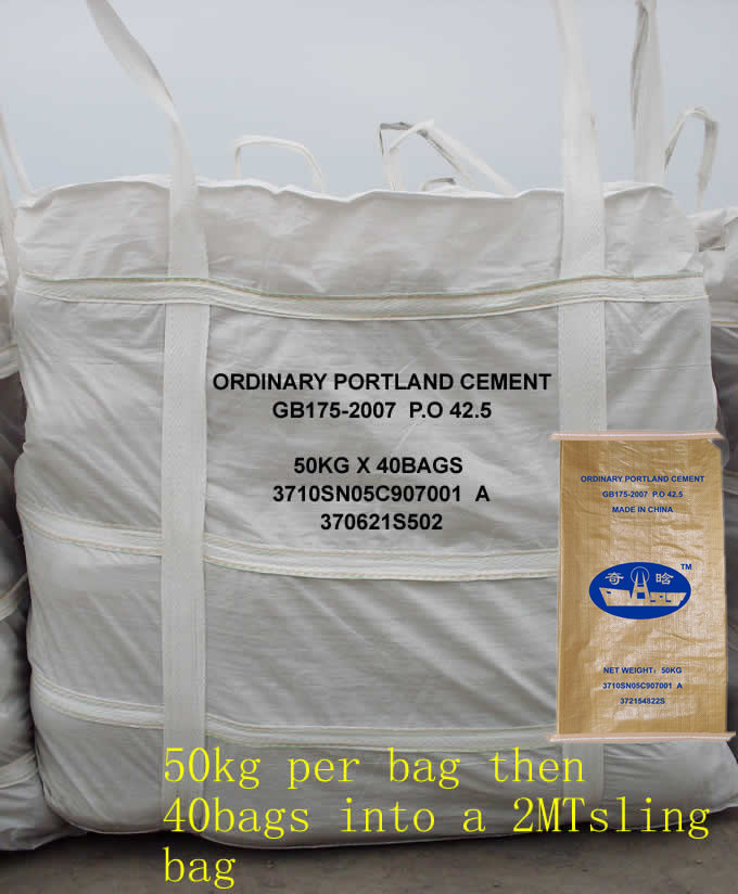 Portland Cement Bags : China ordinary portland cement