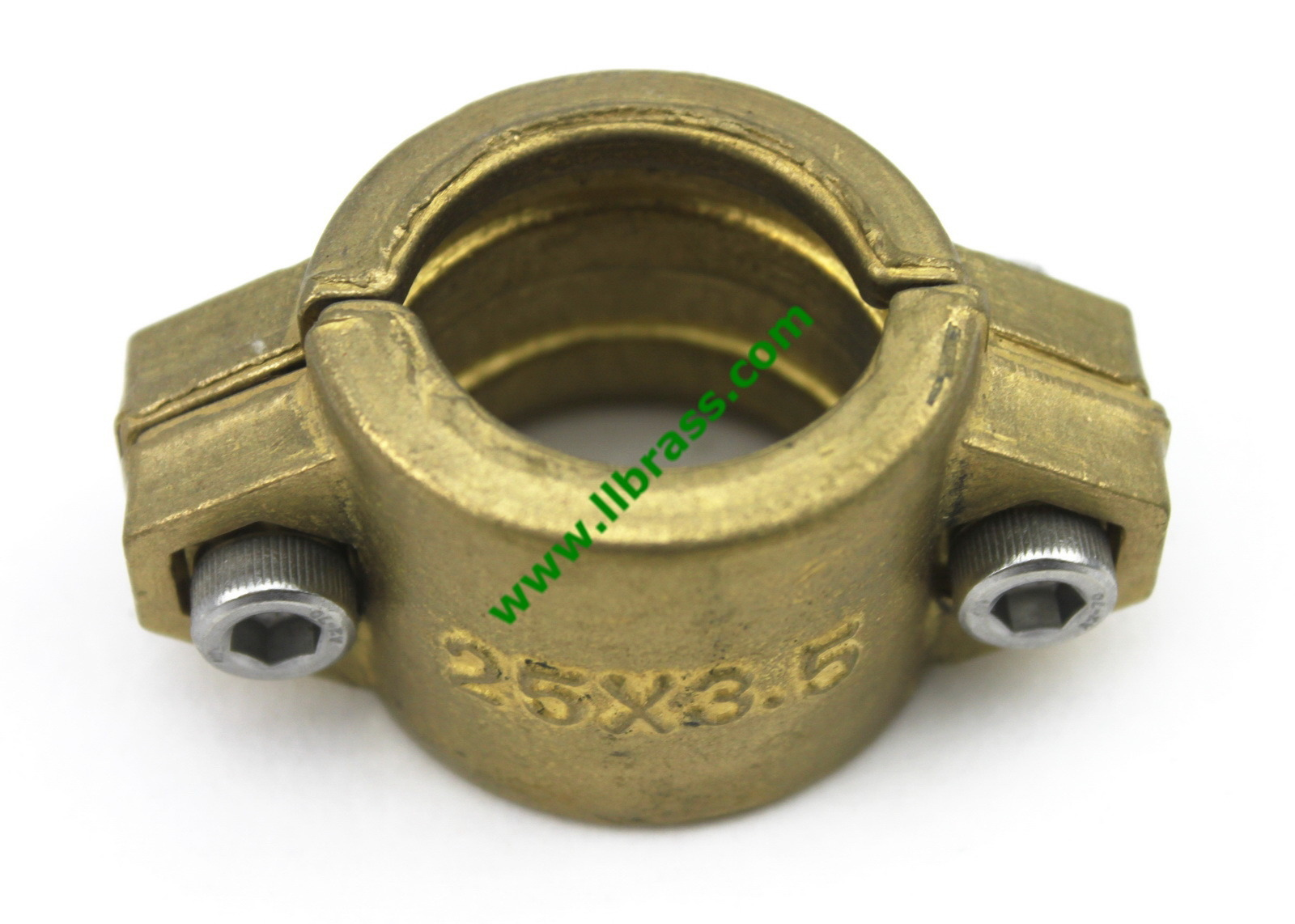 Brass double bolt clamp ll china