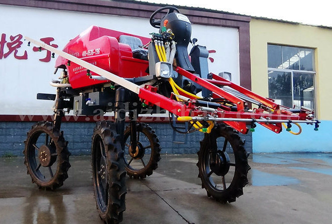 Aidi Brand Self-Propelled Mist Boom Sprayer for Farm Land