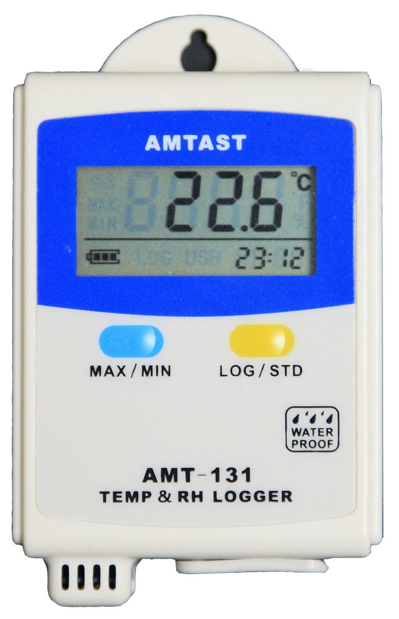 Temperature and Humidity Data Logger (AMT-131)