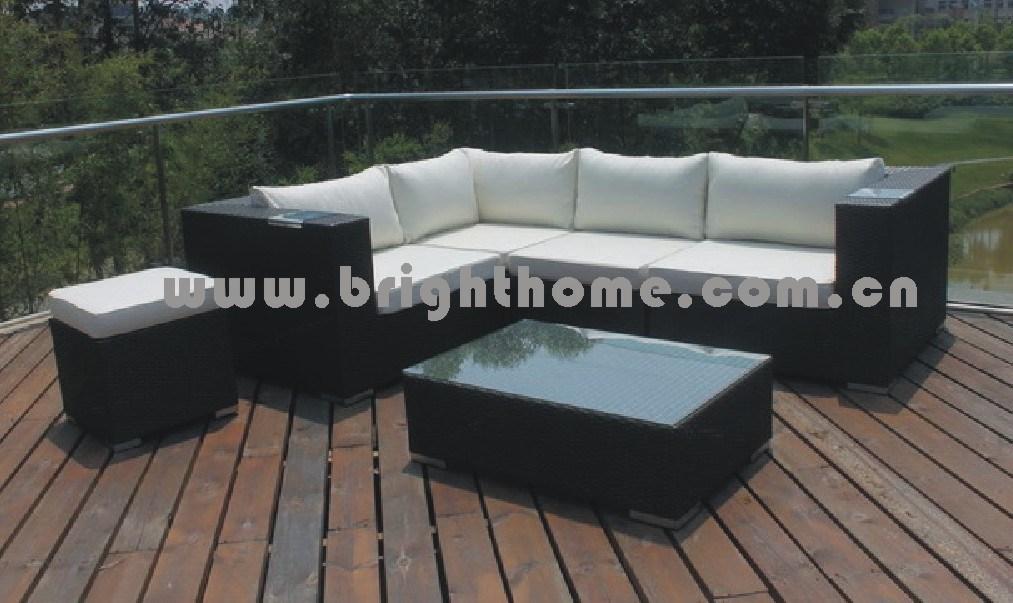Popular Selling Sectional Rattan Sofa (BG-011A)