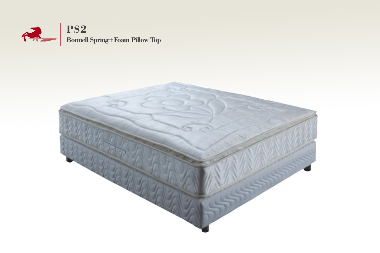 China Bonnell Spring Foam Pillow Top Mattress PS2