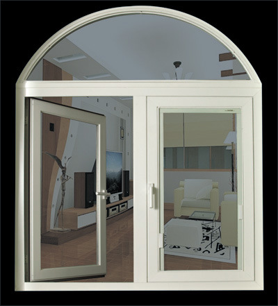 China Round Top Window Jn65 Casement Window China