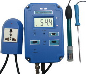 Digital pH Controller with Temperature (KL-601)