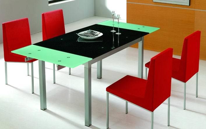 china modern glass top extendable dining table glass furniture sa