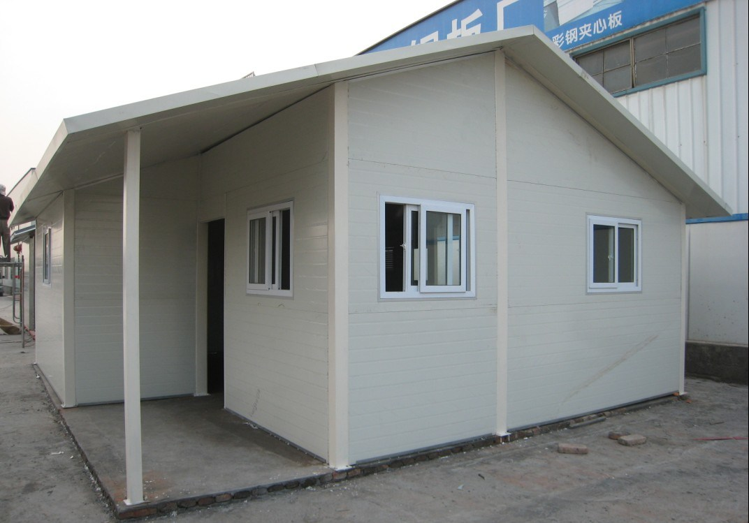China Prefabricated Building Assembling Type Flat Roof