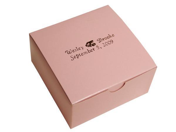 China Elegant Design Hot Selling Pink Colour Cake Box (YY ...