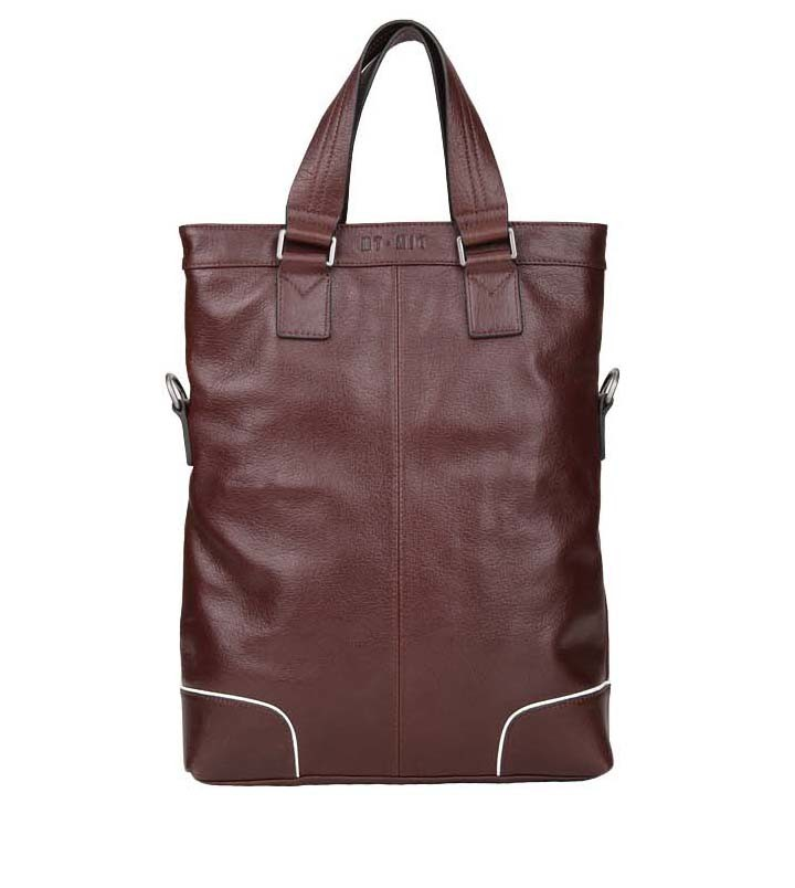Top Quanlity 2014 New Style Fashion Genuine Leather Shoulder Man Bag (MD28133)