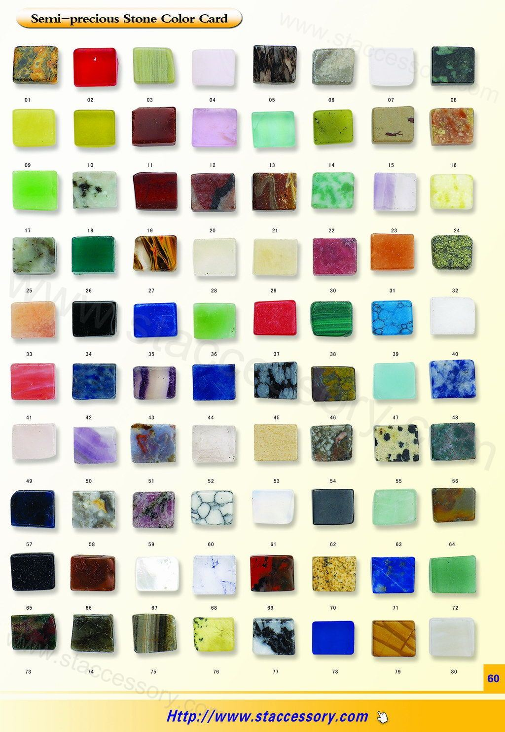 List Of Semi Precious Stones Semi precious stone