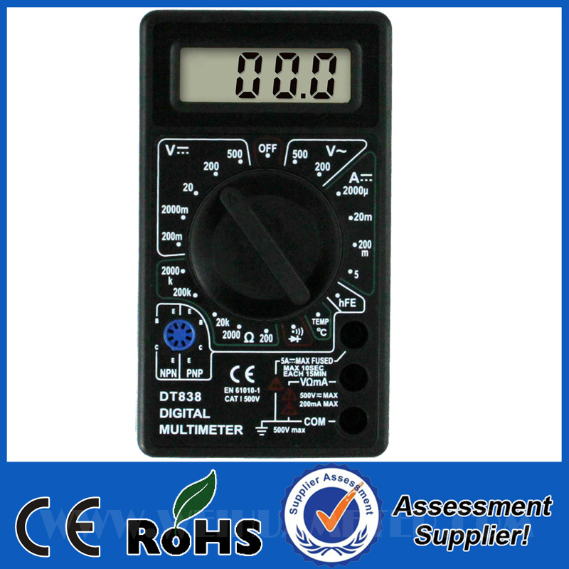 how to use a multimeter to test electricity in screws