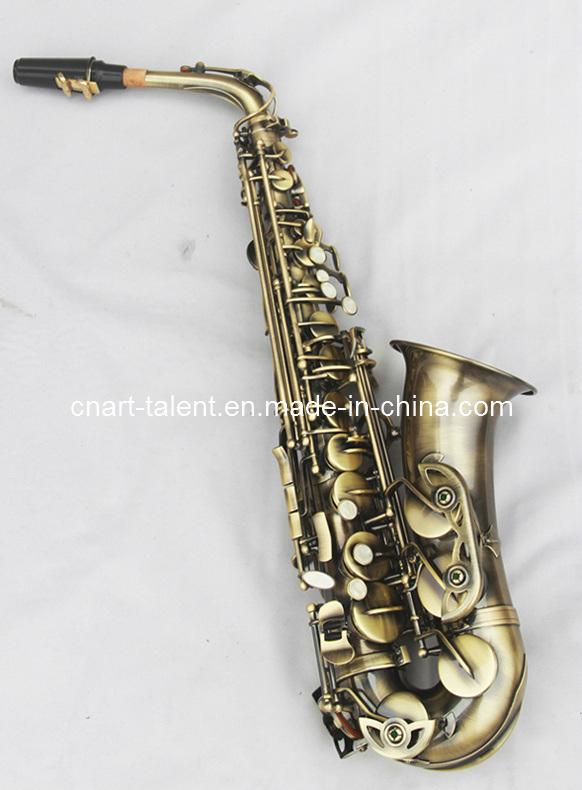 Antique Gold Alto Saxophone (AS-130AB)