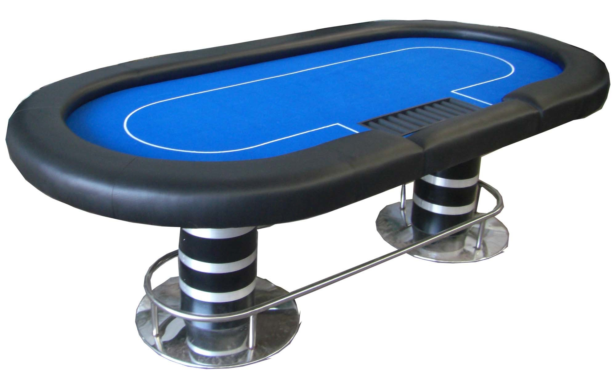 China poker table aquapoker blue t05a china poker for 10 player poker table