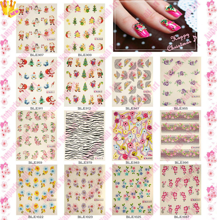 ... Nail Art Stickers - China Water Transfer Nail Art Stickers