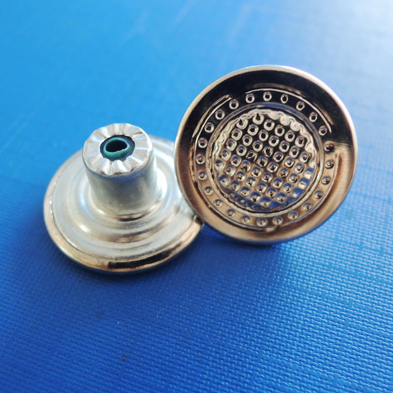 Fabric Iron Shank Button of Garment (SK00029)
