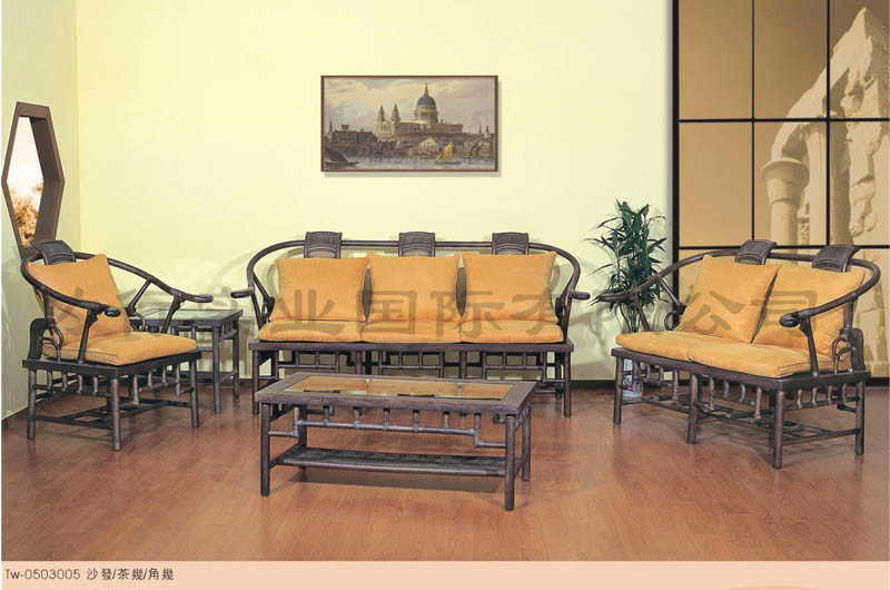 china rattan furniture living room set qy tw 0503005