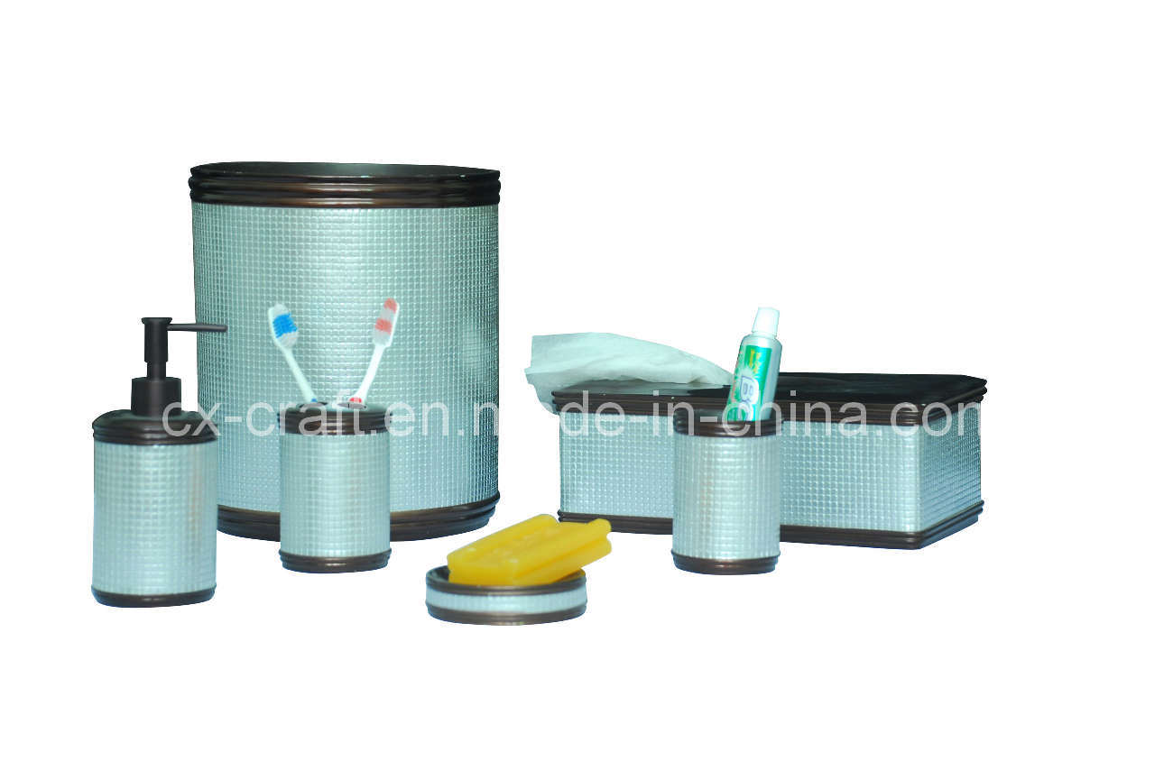 China bathroom accessory set cx080137 china bathroom for Bathroom accessory sets